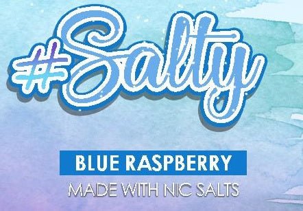 #SALTY - BLUE RASPBERRY