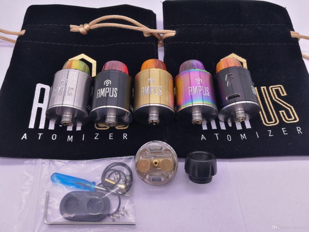 AMPUS SCREWLESS RDA ATOMIZER