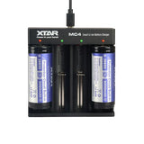 XTAR MC4 QUAD BAY CHARGER