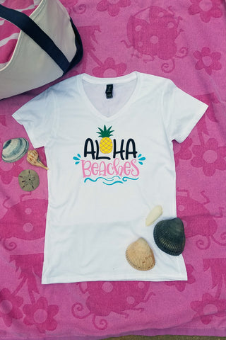 Aloha Beaches Graphic Tee