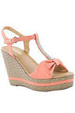 Touch of Class Wedge, Coral