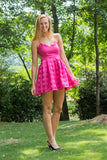 Get This Party Started Dress, Fuchsia