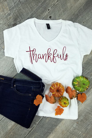 Thankful with Cross Graphic Tee