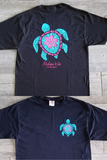 Turtle Graphic Tee with Free Monogram