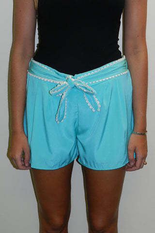 Bow Tie Shorts, Mint