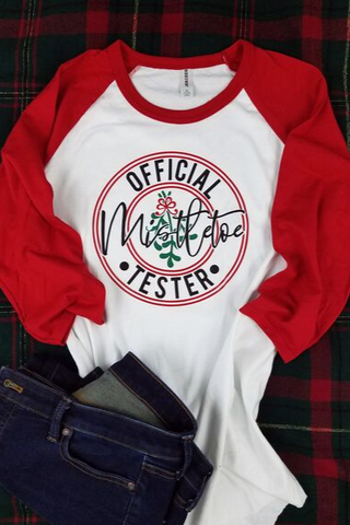 Official Mistletoe Tester Classic Tee