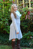 Curvy Shades of Gray Dress