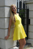 Build Me Up Buttercup Dress, Yellow