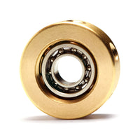 Trance Spinner: Solid Brass Teardrop