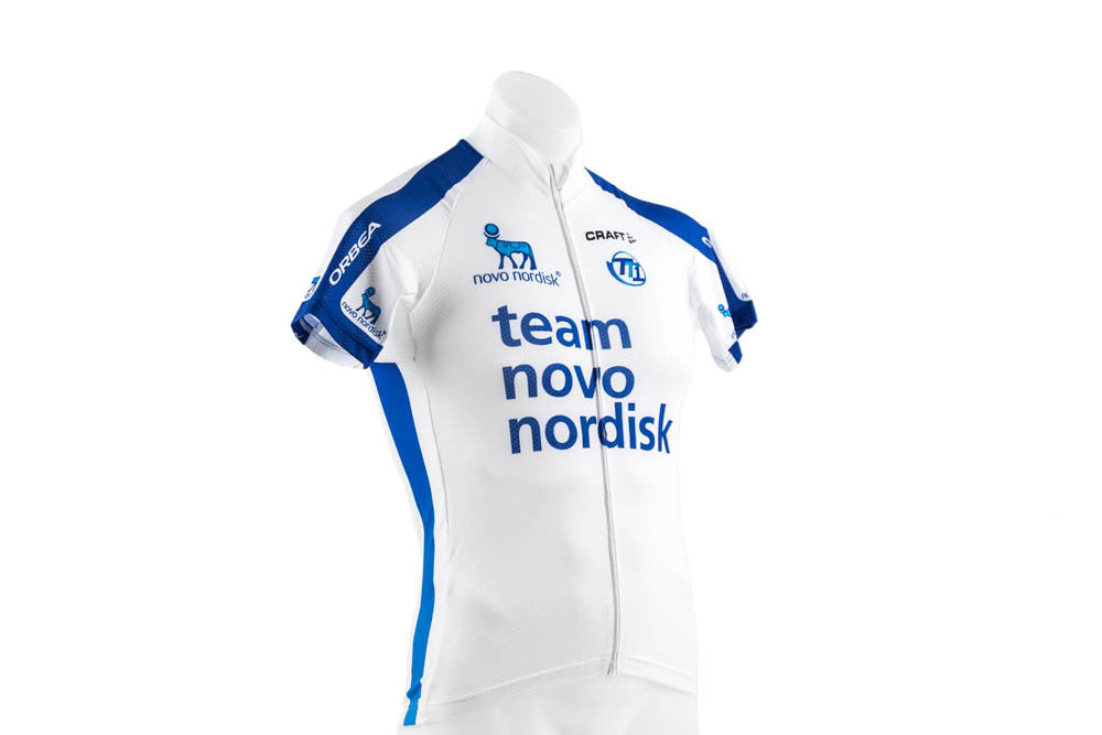 XS Craft EBC Classic Cycling Jersey // Road Bike Bicycle Team NovoNordisk-Men's Cycling Apparel > Short Sleeve Jerseys-Craft-Default-The Racery