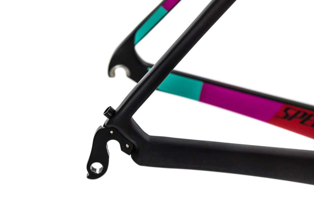 54cm S-Works Amira Frame // LuluLemon Black Team Colors-Road Frames-Specialized-Default-The Racery