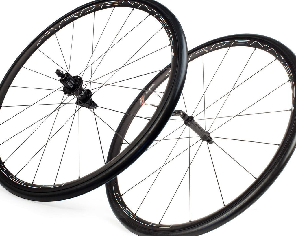 HED Ardennes Plus Black SCT Wheelset-Road Components > Wheels-HED-Default-The Racery
