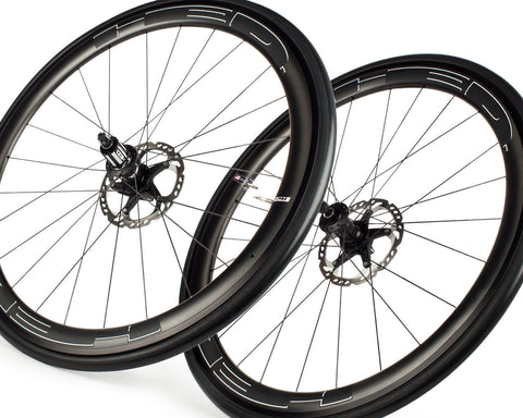 HED Jet 4 Plus Disc Brake Wheelset-Road Components > Wheels-HED-Default-The Racery