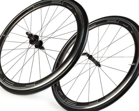 HED Jet 4 Plus Wheelset-Road Components > Wheels-HED-Default-The Racery