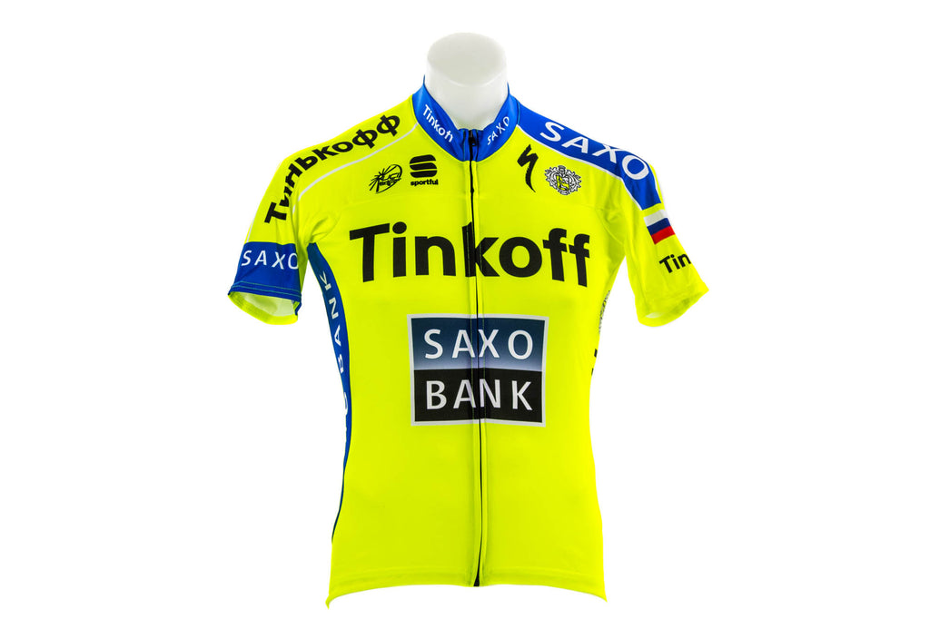 Sportful Tinkoff-Saxo Bodyfit Pro Team Cycling Jersey // Road Bike Bicycle-Men's Cycling Apparel > Short Sleeve Jerseys-Sportful-Medium-The Racery