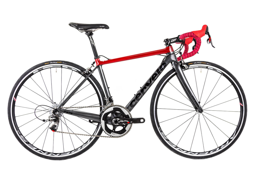 48cm Cervelo R5 Red 22 // SRAM HED ZIPP Selle Italia-Road Bikes-Cervelo-Default-The Racery