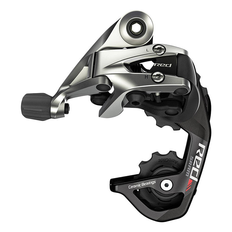 Sram Red 11SPD Short Cage Rear Derailleur-Road Components > Derailleurs-Sram-The Racery