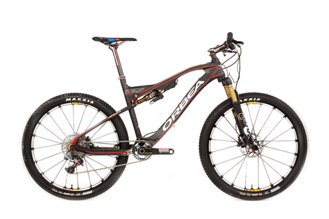 Medium Orbea Oiz M-LTD Full Suspension Mountain Bike // Fox Float Sram XX1 Mavic