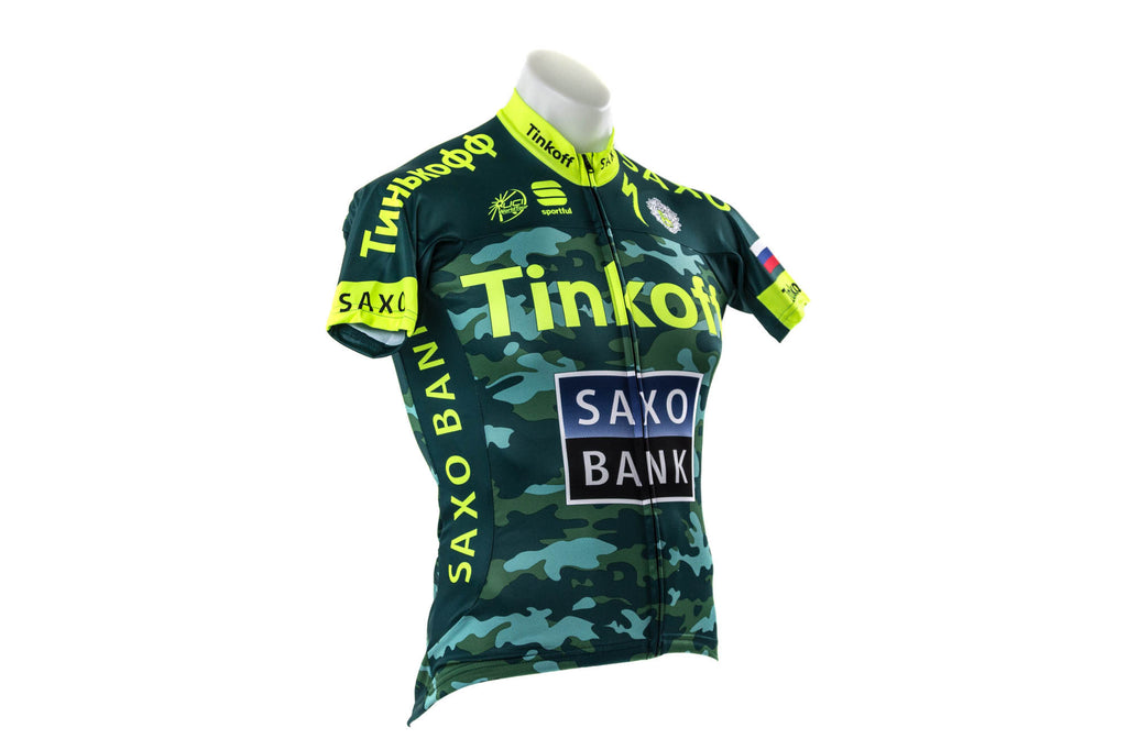 XL Tinkoff-Saxo Bodyfit Pro Team Jersey-Men's Cycling Apparel > Short Sleeve Jerseys-Sportful-XL-Camouflage-The Racery