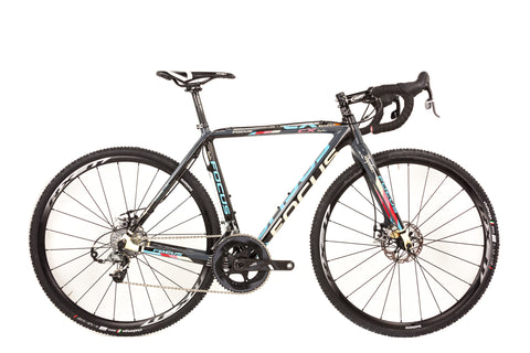 52cm Focus Mares Carbon Cyclocross Bike // Sram Force 22 Zipp Team Rapha-Cyclocross Bikes-Focus-The Racery