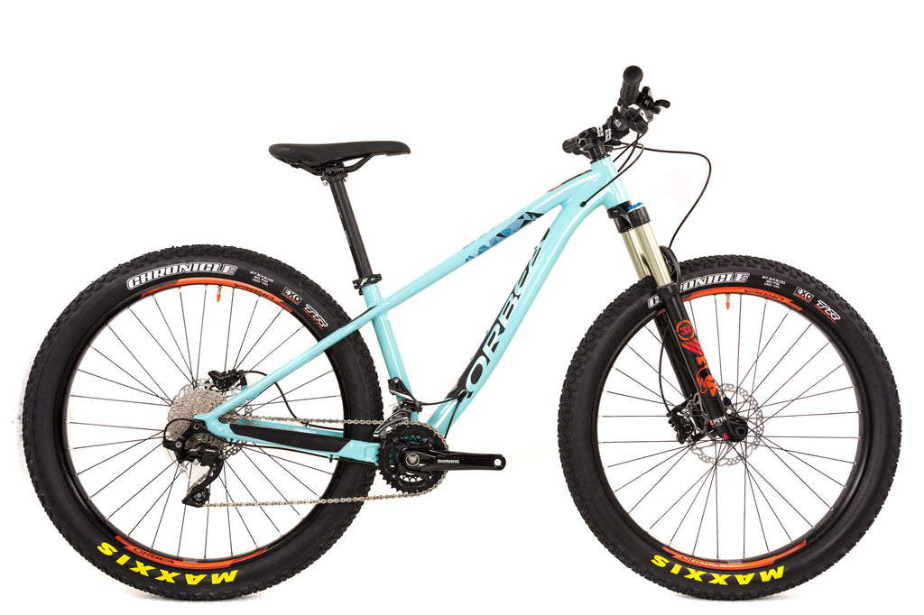 Small Orbea Loki 27+ H10 Hardtail Mountain Bike // Shimano SLX Fox Float Selle-Mountain Bikes-Orbea-Default-The Racery