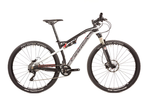 Small Orbea Occam 29er Full Suspension Mountain Bike // Shimano Fizik DT Swiss