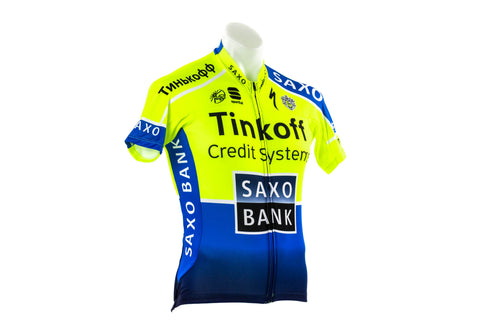 Medium Sportful Tinkoff-Saxo Bodyfit Pro Cycling Jersey // Road Bike Bicycle