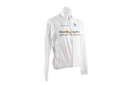 XS Nalini Men's Wind Jacket Pro Team Novo Nordisk-Men's Cycling Apparel > Jackets-Nalini-Default-The Racery