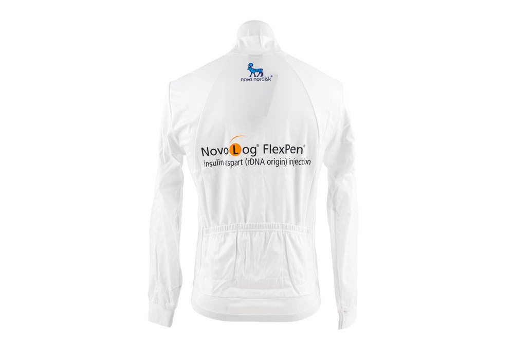 XL Men's Wind Jacket Team Novo Nordisk-Men's Cycling Apparel > Jackets-Nalini-Default-The Racery
