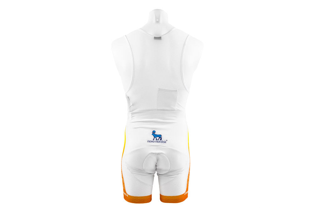 Large Men's Summer Bibshorts Team Novo Nordisk-Men's Cycling Apparel > Shorts / Bib Shorts-Nalini-Default-The Racery