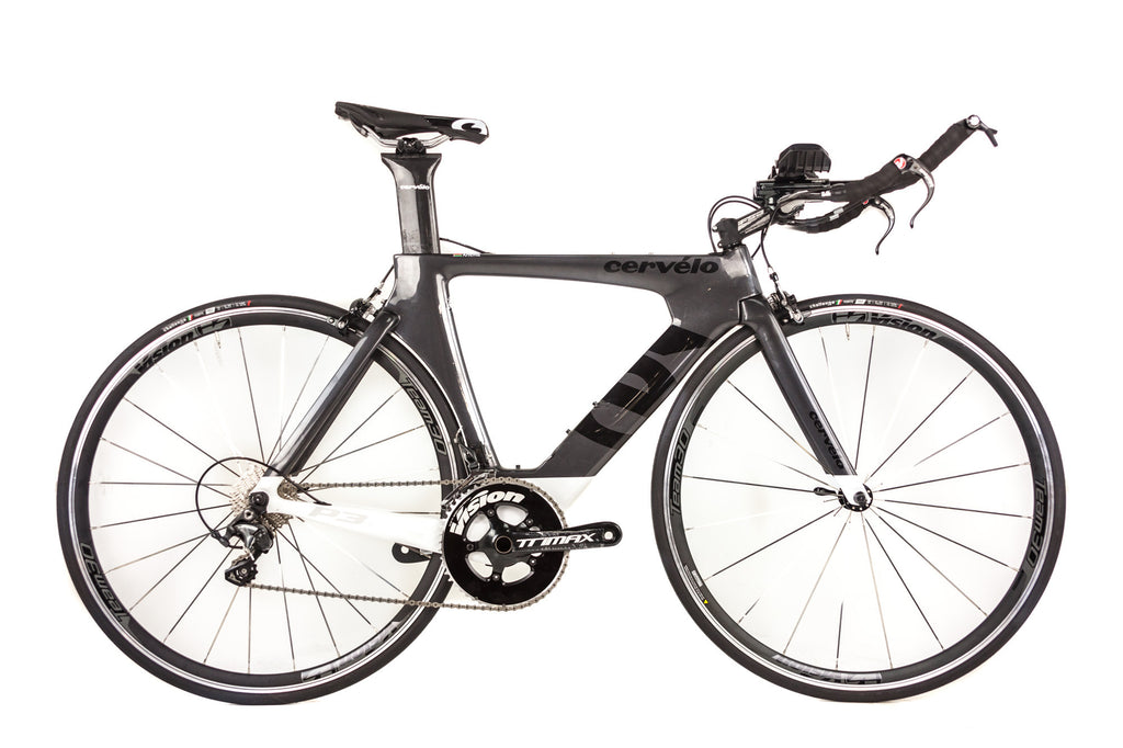 48cm Cervelo P3 Carbon Time Trial Bike // Shimano Ultegra Vision Team 30