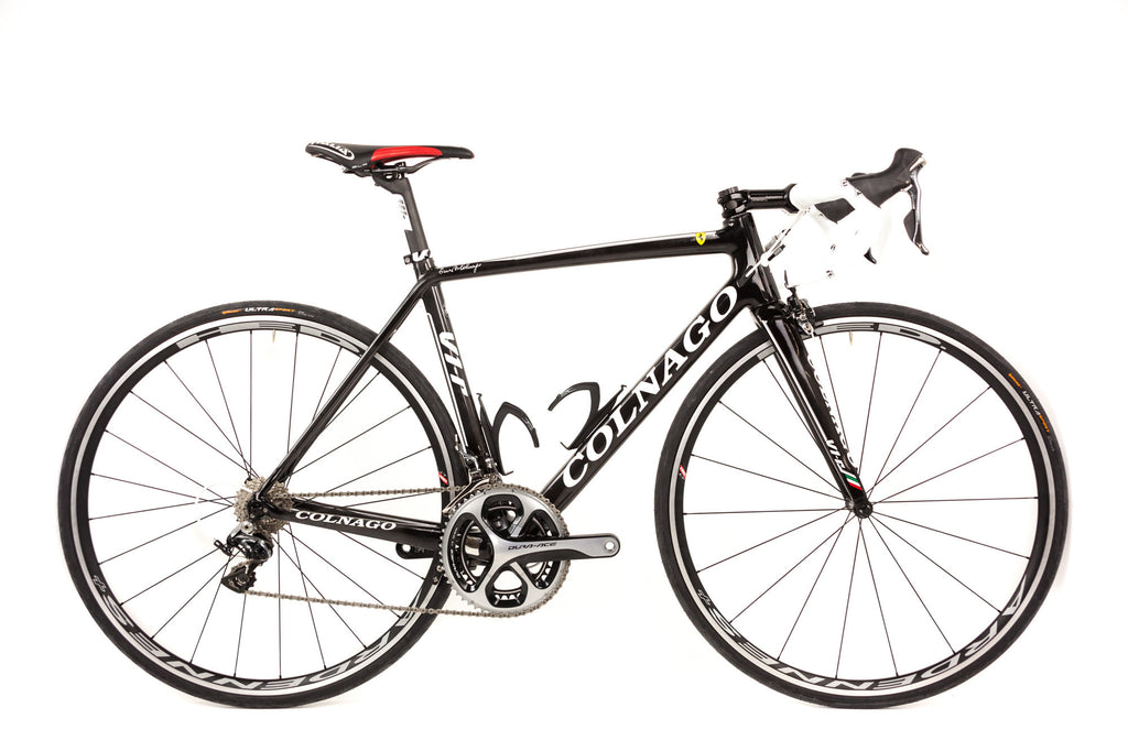 50cm Colnago V1-R Carbon Road Bike // Shimano Dura Ace Racing HED Selle Italia-Road Bikes-Colnago-Default-The Racery