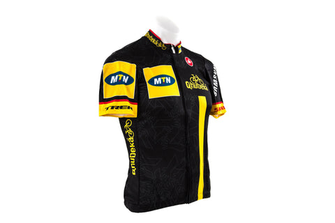 Castelli Men's MTN Qhubeka Team Cycling Jersey // Road Bike Bicycle