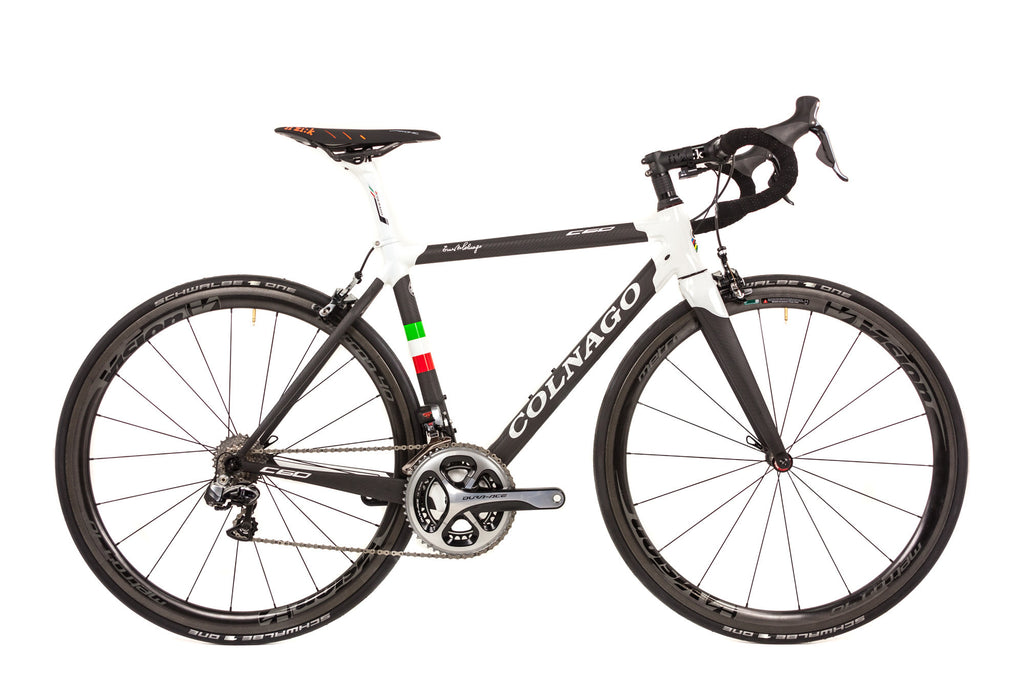 48cm Colnago C60 Carbon Road Bike // Shimano Dura Ace Di2 Racing Fizik-Road Bikes-Colnago-Default-The Racery