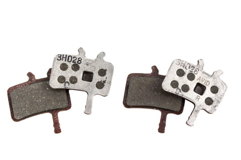 Two Pairs (4) Avid Juicy BB7 Disc Brake Pad Semi-Metallic-Mountain Components > Brakes-Avid-Default-The Racery