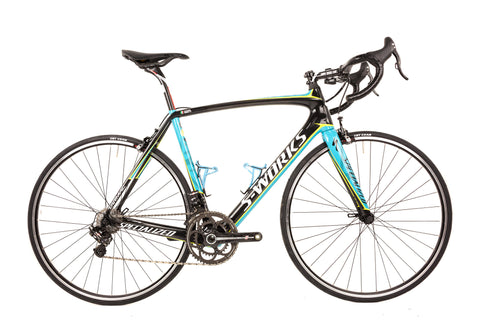 58cm Specialized S-Works Tarmac Carbon Road Bike // Campagnolo Super Record EPS Astana Team Vanotti