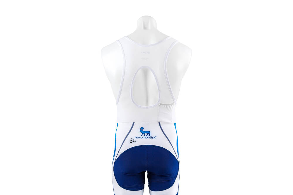 Small Craft Cyclocross EBC Bibtights  Team Novo Nordisk no Chamois