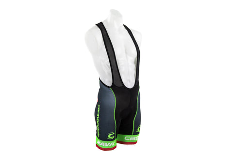 Castelli Men's Cannondale Drapac Volo Cycling Bibshort // Road Bike Bicycle-Men's Cycling Apparel > Shorts / Bib Shorts-Castelli-Small-The Racery