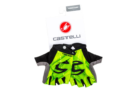 Castelli Cannondale Roubaix Cycling Gloves // Road Mountain Bike Bicycle