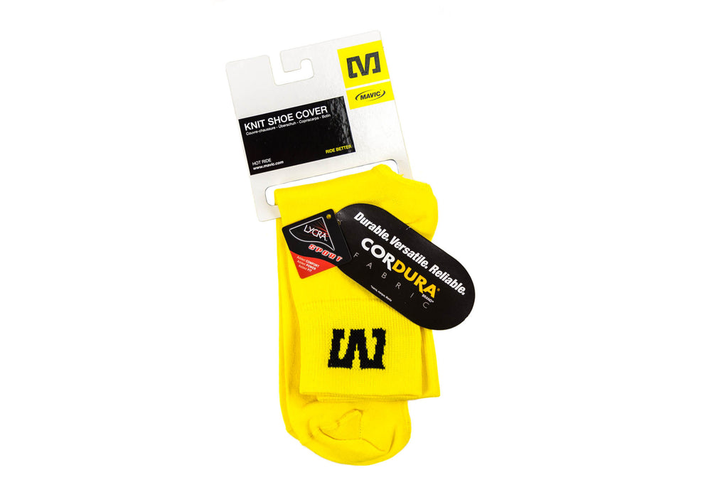 Mavic Knit Cycling Shoe Cover // Road Bike Bicycle-Men's Cycling Apparel > Misc.-Mavic-Small-The Racery