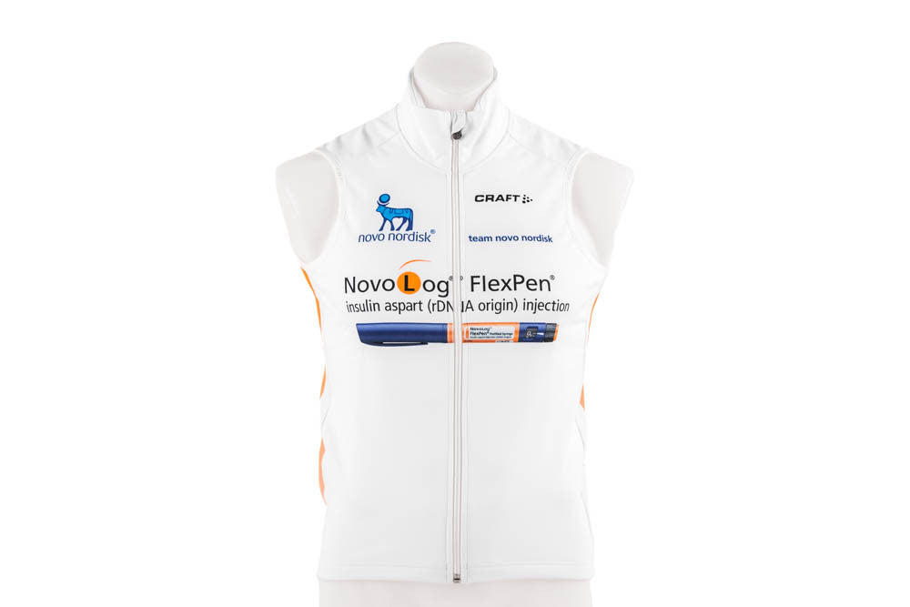 Craft Men's EBC Thermal Cycling Vest // Road Bike Bicycle Team NovoNordisk-Men's Cycling Apparel > Vests-Craft-Small-The Racery