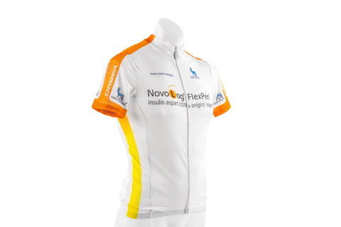 Brand New Men's Nalini Summer Short Sleeve Road Bike Bicycle Jersey Novo Nordisk-Men's Cycling Apparel > Short Sleeve Jerseys-Nalini-XS-The Racery