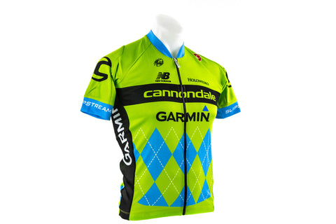 Small Castelli Cannondale Garmin Team 2.0 Cycling Jersey // Road Bike Bicycle-Men's Cycling Apparel > Short Sleeve Jerseys-Castelli-Default-The Racery