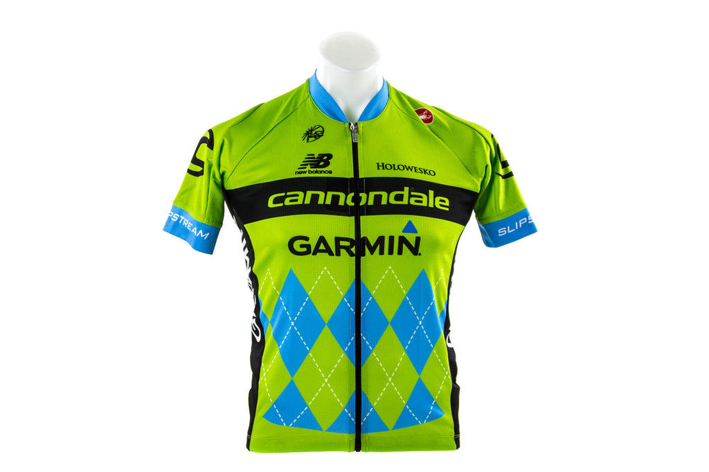Small Castelli Cannondale Garmin Team 2.0 Cycling Jersey // Road Bike Bicycle