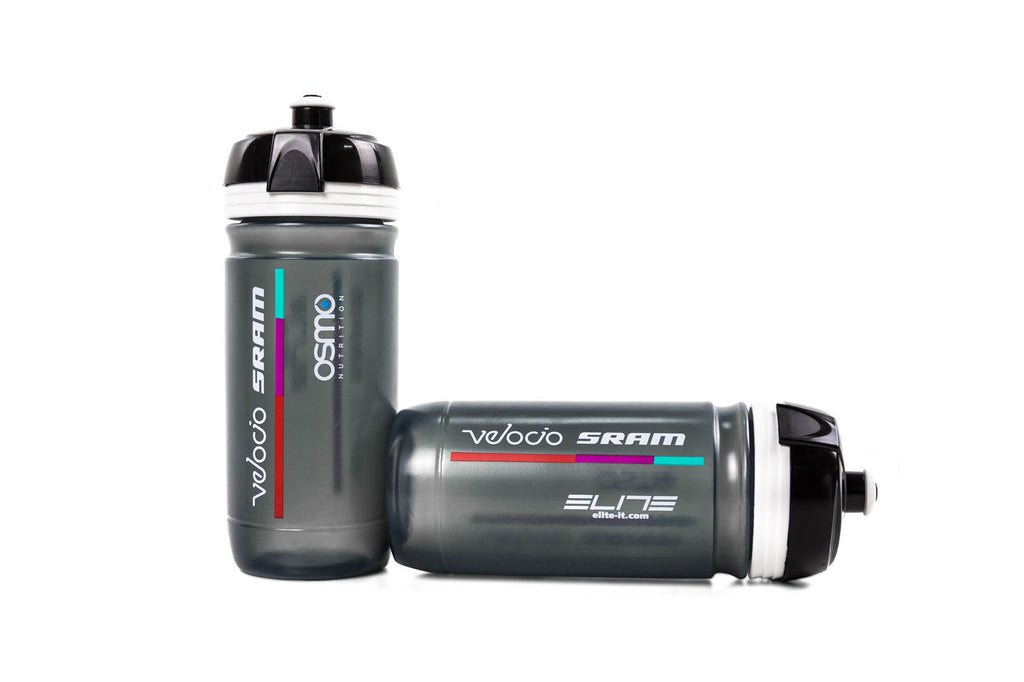 Elite Bicycle Water Bottles // Velocio Sram Team-Road Components > Hydration and Cages-Elite-Default-The Racery