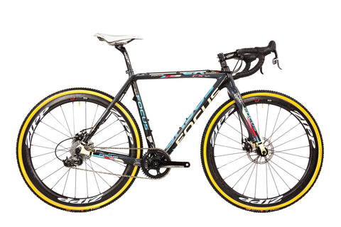 54cm Focus Mares Carbon Cyclocross Bike // Sram Force 22 Rival Zipp 303-Cyclocross Bikes-Focus-Default-The Racery