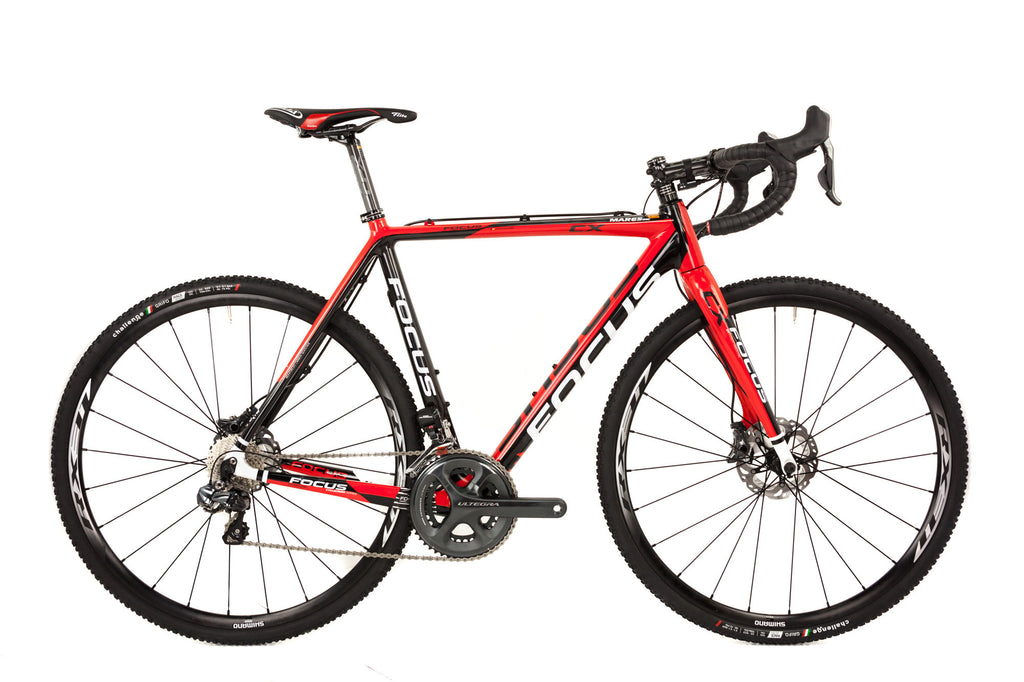 56cm Focus Mares Carbon Cyclocross Bike // Shimano Ultegra Di2 Gravel Adventure