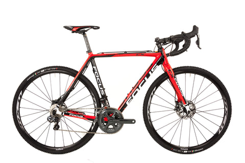 56cm Focus Mares Carbon Cyclocross Bike // Shimano Ultegra Di2 Gravel Adventure-Cyclocross Bikes-Focus-Default-The Racery
