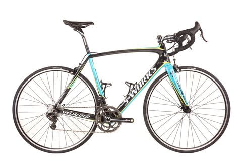 58cm Specialized S-Works Tarmac Carbon Road Bike // Campagnolo Super Record EPS Astana Boom