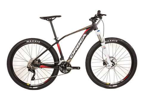 Small Orbea Alma 27.5 H50 Hardtail Mountain Bike // Shimano XT RockShox Mavic